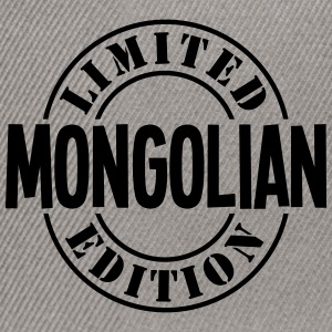 mongolian limited edition stamp - Snapback Cap