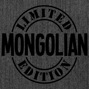 mongolian limited edition stamp - Shoulder Bag made from recycled material