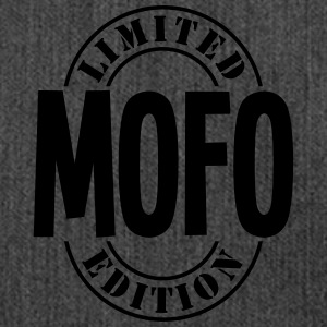 mofo limited edition stamp - Shoulder Bag made from recycled material
