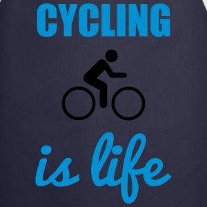 Cycling is life - Fahrrad Shirt - Keukenschort