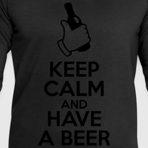 Keep calm and have a beer - Men's Sweatshirt by Stanley & Stella