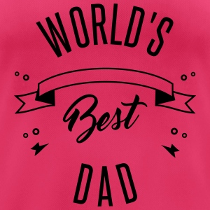 WORLD'S BEST DAD Hoodies & Sweatshirts - Women's Breathable T-Shirt