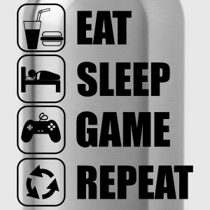 Eat,sleep,game,repeat Gamer Gaming Geek Nerd - Gourde