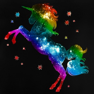 Unicorn rainbow, galaxy, space, gay, fantasy Shirts - Baby T-shirt