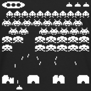 70s and 80s invaders video game - women's tee - Men's Premium Longsleeve Shirt
