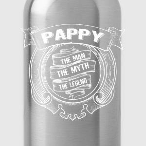 Pappy-The Man The Myth The Legend T-Shirts - Water Bottle