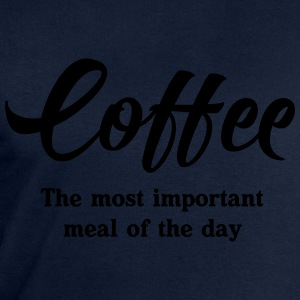 Coffee. The most important meal of the day T-Shirts - Men's Sweatshirt by Stanley & Stella