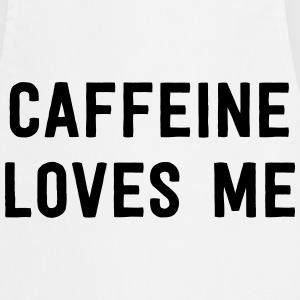 Caffeine Loves Me T-Shirts - Cooking Apron