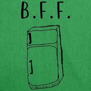B.F.F. Fridge T-Shirts - Shoulder Bag made from recycled material