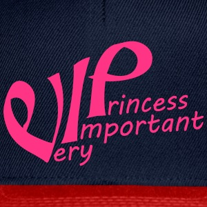 Font pink princess queen princess queen crown pret T-Shirts - Snapback Cap