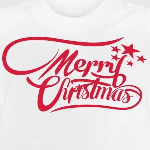 merrychristmas-ownfont Shirts - Baby T-Shirt