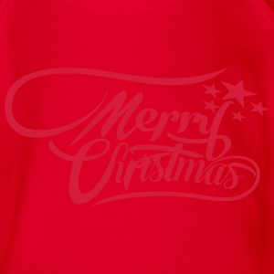 merrychristmas-ownfont Tee shirts - Body bébé bio manches courtes