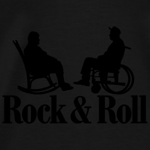 Rock / Roll 1clr New Gensere - Premium T-skjorte for menn