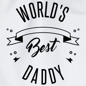 WORLD'S BEST DADDY Caps & Hats - Drawstring Bag