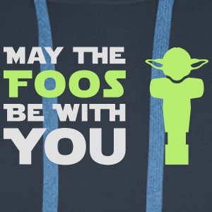 May the Foos be with you - Männer Premium Hoodie