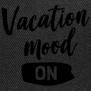 Vacation mood on T-Shirts - Snapback Cap