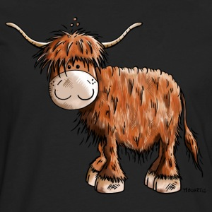 Highland Cattle T-Shirts - Men's Premium Longsleeve Shirt