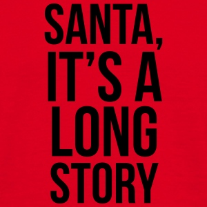 Santa it's a long story Mokken & toebehoor - Mannen T-shirt
