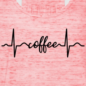 Heartbeat Coffee T-Shirts - Frauen Tank Top von Bella