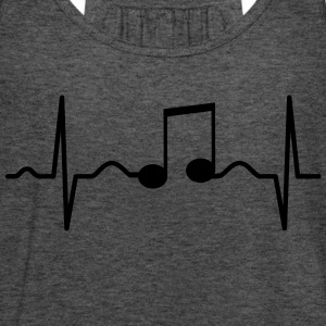 Music Heartbeat T-Shirts - Frauen Tank Top von Bella