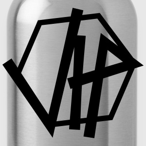 Cool logo design vip very important person importa T-Shirts - Water Bottle