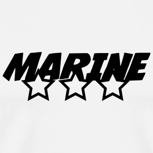 Sailor / Marine / Marin / Boat / Sea / Navy Mugs & Drinkware - Men's Premium T-Shirt