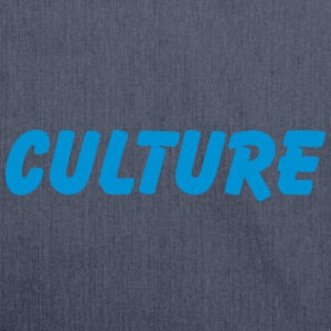 culture T-Shirts - Schultertasche aus Recycling-Material
