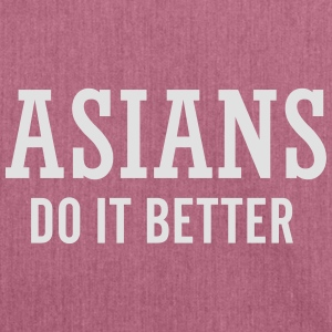 Asians do it better Pullover & Hoodies - Schultertasche aus Recycling-Material