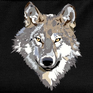 wolf face Hoodies & Sweatshirts - Kids' Backpack