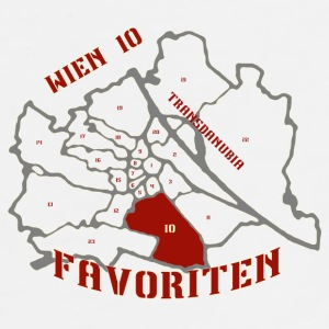 Wien 10 Favoriten mi Barrio - Männer Premium T-Shirt