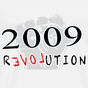 The Revolution  2009 Langarmshirts - Männer Premium T-Shirt