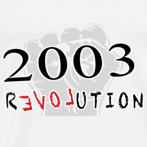 The Revolution  2003 Langarmshirts - Männer Premium T-Shirt