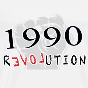 The Revolution  1990 Langarmshirts - Männer Premium T-Shirt