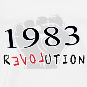 The Revolution  1983 Langarmshirts - Männer Premium T-Shirt