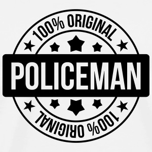 Policier / Police / Justice / Crime Tabliers - T-shirt Premium Homme
