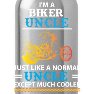 Biker Uncle... T-Shirts - Water Bottle