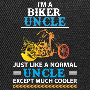 Biker Uncle... T-Shirts - Snapback Cap