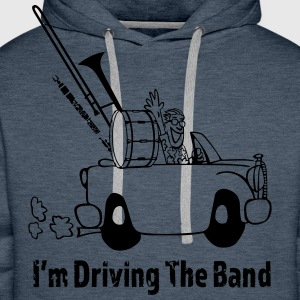 Driving the band T-Shirts - Men's Premium Hoodie