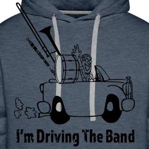 Driving the band Tee shirts - Sweat-shirt à capuche Premium pour hommes