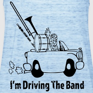 Driving the band T-shirts - Tanktopp dam från Bella