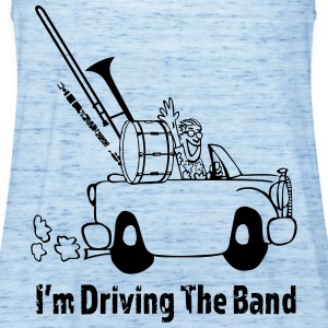 Driving the band T-Shirts - Women's Tank Top by Bella