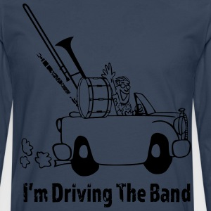 Driving The Band - Premium langermet T-skjorte for menn