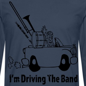 Driving the band Camisetas - Camiseta de manga larga premium hombre