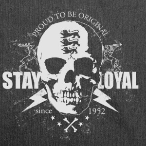 Stay loyal T-Shirts - Schultertasche aus Recycling-Material