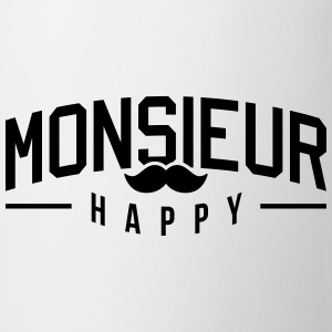 Monsieur-Happy Tee shirts - Tasse