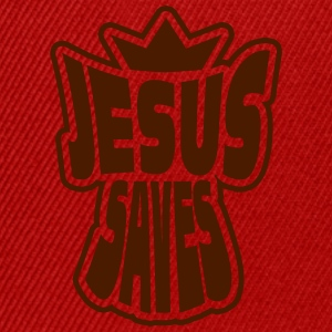 jesus saves T-Shirts - Snapback Cap