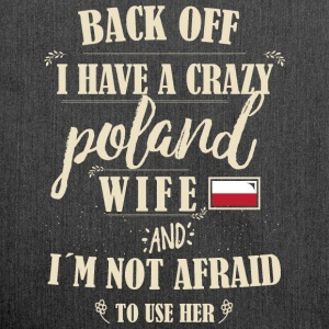 Poland Wife T-Shirts - Schultertasche aus Recycling-Material