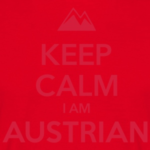 KEEP CALM I AM AUSTRIAN - Männer T-Shirt