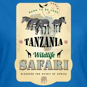 Zebras Wildlife Safari Tanzania Africa Adventure - Frauen T-Shirt
