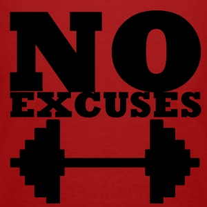 No Excuses - T-shirt bio Homme